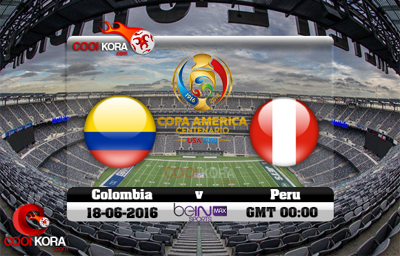 مشاهدة مباراة كولومبيا وبيرو اليوم 18-6-2016 كوبا أمريكا