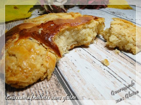 croissants sans gluten, viennoiserie sans gluten