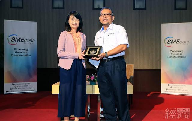 論壇由我國經濟部中小企業處蘇副處長文玲、馬來西亞中小企業發展機構副執行長Mr. Mohd Rithaudden Makip共同揭開序幕
