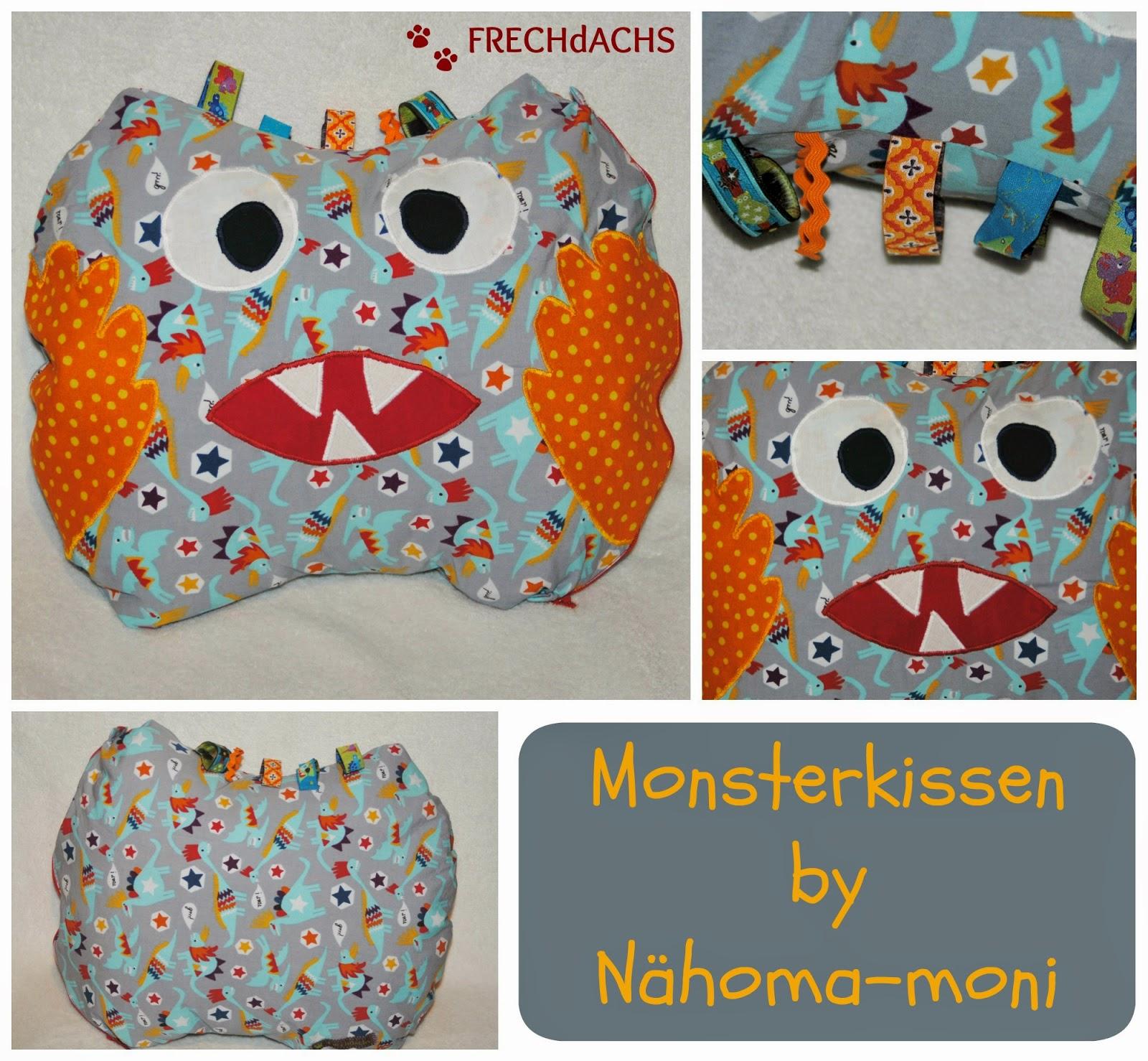 Naehoma - moni: Freebook, Eulen ,Monster & Co, Probenähergebnisse