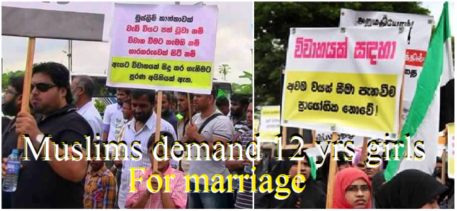 muslims demand their right for child marriage