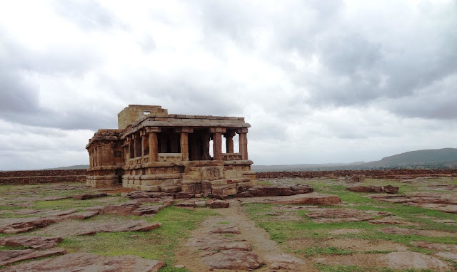 Places to see in Aihole - Jain Temple on Meguti hill