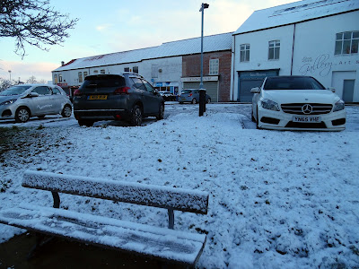 Picture six of snow and ice in Brigg on January 23, 2019 by Nigel Fisher