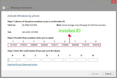 Langkah aktivasi 4 Cara Aktivasi Windows 8 Pro/Enterprise Permanen Menggunakan Key MAK Melalui Skype