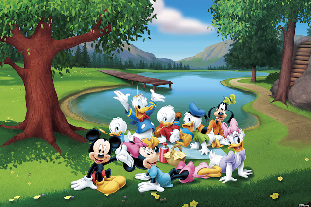 Disney tapetti Lapset