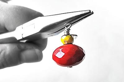 DIY oorbellen: hangers ' wire wrappen '