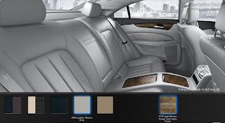 ội thất Mercedes CLS 350 2015 màu Xám Leather Alpaca 208