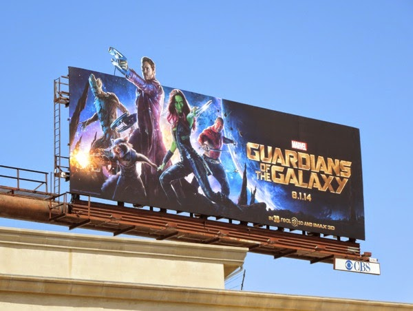 Guardians of the Galaxy special extension movie billboard
