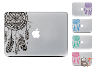 A beautiful Dream Catcher Removable Sticker Skin for your Macbook Pro Air