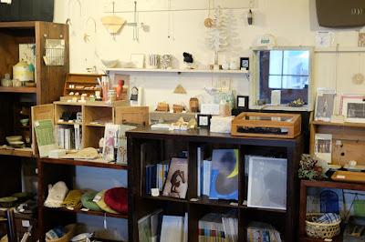 長野県松本市のギャラリーカフェ Gargas(ガルガ)雑貨販売スペース