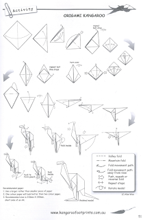 Well A Few Years Back I Was Little Bored And Decided Would Draft An Origami Kangaroo Had Invented The Images Below Are From Book It Has Been