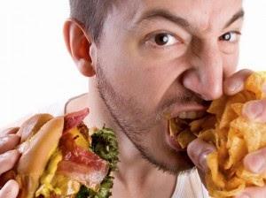 makan terburu buru