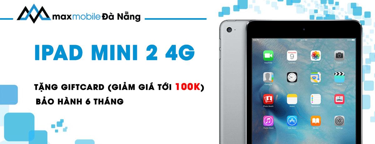 Ipad mini 2 giá rẻ tại Đà Nẵng