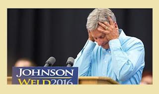 Gary Johnson, Libertarian candidate