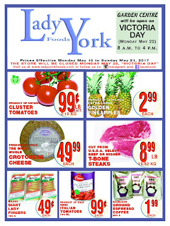 Lady York Foods Flyer May 15 – 21, 2017