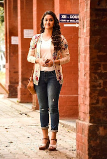 Keerthy Suresh with Cute and Lovely Smile in Sarkar 3
