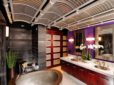 Ide Desain Plafon Bambu Modern