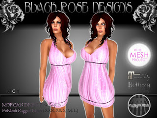 Black Rose Morgan Dress
