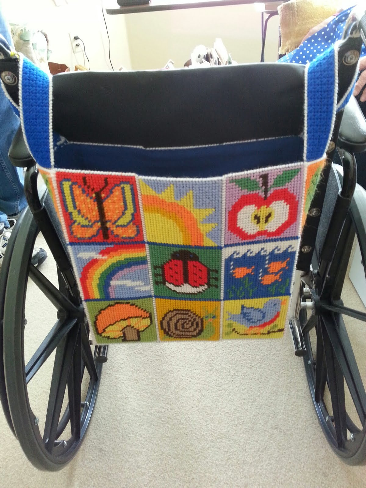 Wheelchair Bag For Grandma Vivian