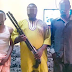 See the armed robbers/kidnappers arrested by police in Ogun state... photo