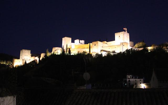 Vistas desde el mirador  de los Carvajales en Granada