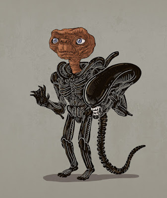 Alien el octavo pasajero en realidad es E.T.