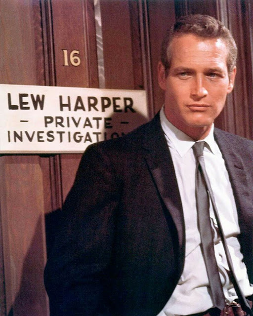 Paul Newman as Lew Harper in Harper (1966)