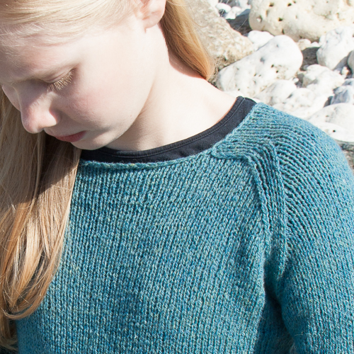 encolure Ginny sweater