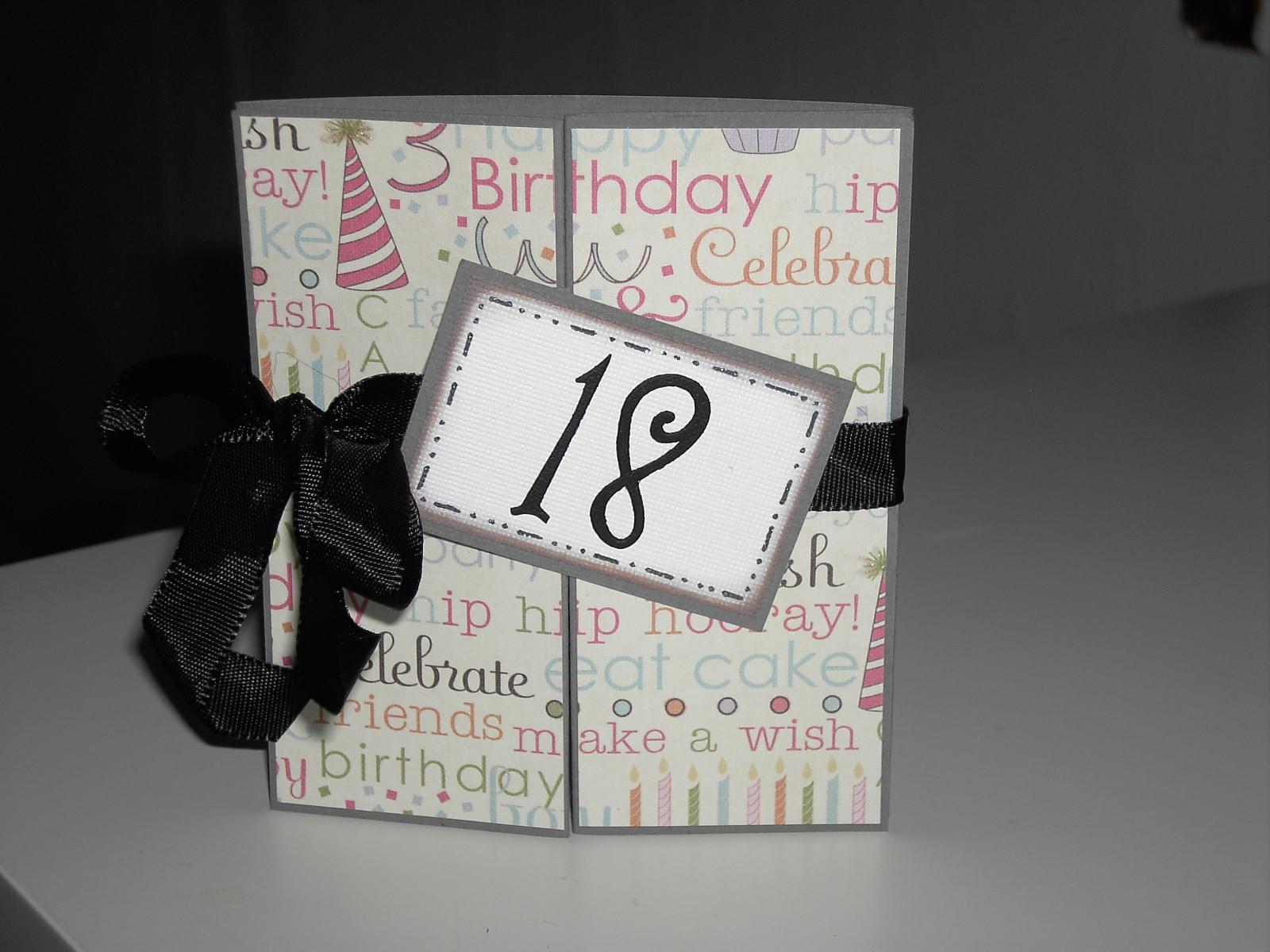 födelsedagskort 18 år Moster Fridas blogg: Födelsedagskort födelsedagskort 18 år