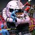 Custom Build: 1/35 UCHG Char's Zaku Bust + Diorama