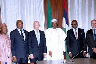 Buhari and Global Upstream of Shell Oil Company