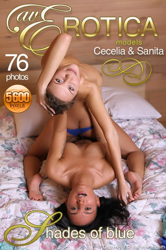 avErotica - Cecelia, Sanita - Shades of blue