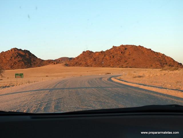 rumbo al desierto namibia