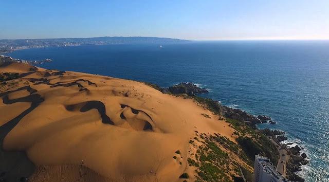 Visitar as Dunas de Con Con no verão em Viña del Mar