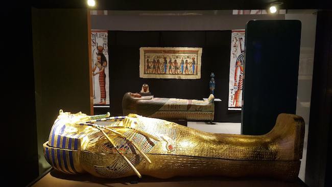 Museu Egípcio permanece em BH até setembro