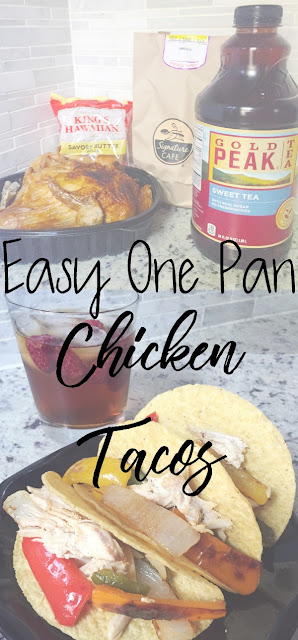 Easy One Pan Chicken Tacos