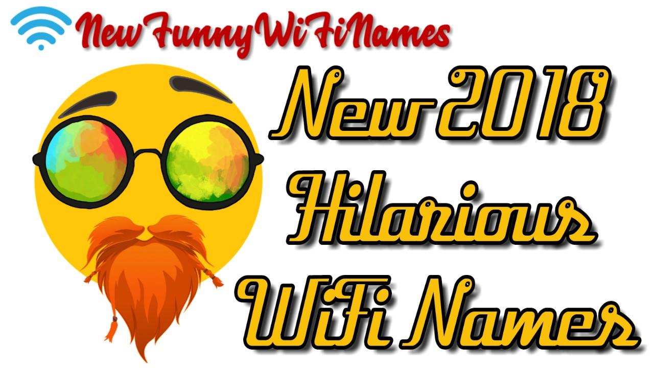 hilarious wifi names 2019
