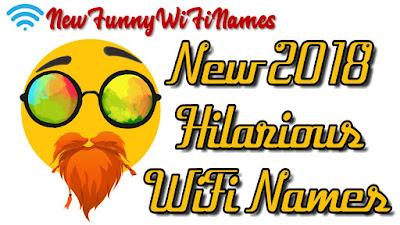 2018 Hilarious Wifi Names