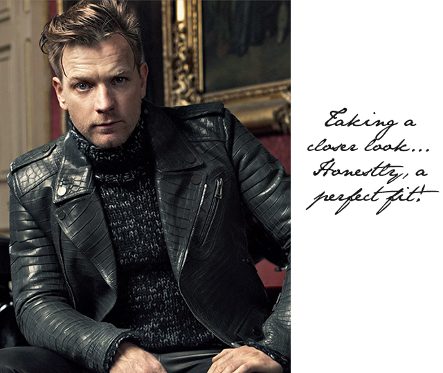 Ewan Mcgregor Motorcycle Jacket