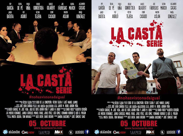 Carteles Promocionales La Casta serie