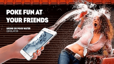 Aplikasi Sulap Android, Drink or Pour Water