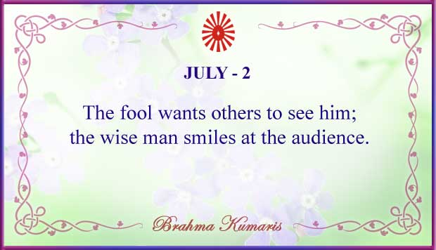 Thought For The Day July 2