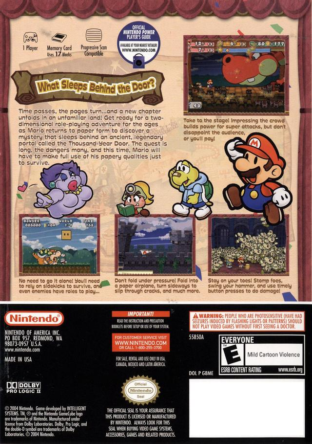 paper mario the thousand year door iso usa