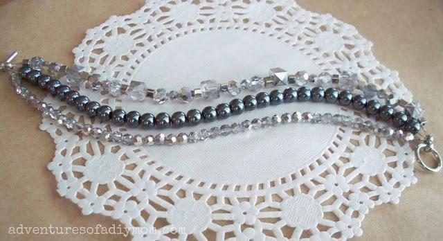 how to make a 3 stranded bracelet