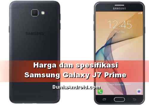Harga terbaru HP Samsung J7 Prime 2020