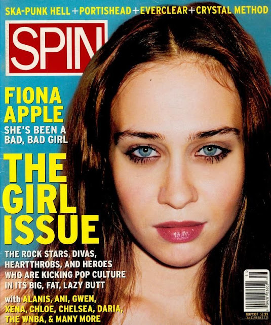 "Fiona Apple. Photoshoot de Terry Richardson para ""Spin"", 1997"