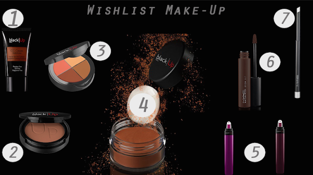 wishlist, maquillage peau afro, maquillage peau noire,