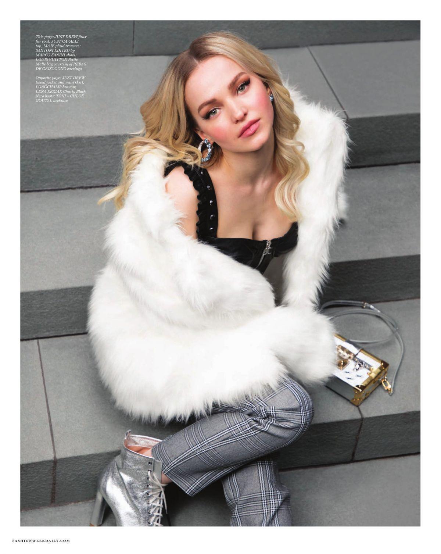 Dove Cameron in Daily Front Row Magazine, Febrauary 2019