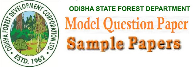 Odisha (OPSC) Forest Dept Model Question Paper 2017 Answer Key