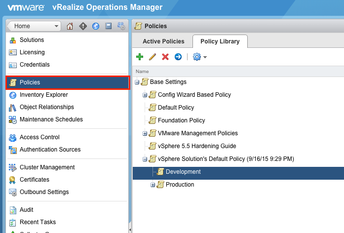 Elastic Sky Labs: vRealize Operations Manager Maintenance